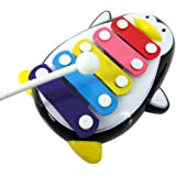 Ouneed® 5 Ton Jeu Musical Xylophone Pour Bebe Enfant Jouet Imaginatif (Noir)