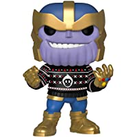 Funko POP Marvel: Holiday - Thanos, Multi-Colour