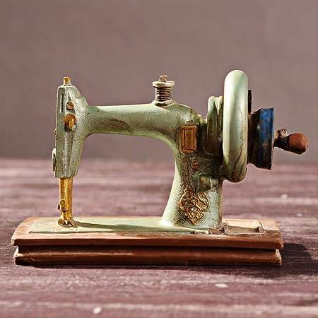WZ YDTH Figurines Adornos Antigua Máquina De Coser Adornos ...