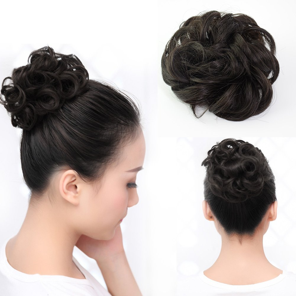 Amazon Beauty Angelbella Lovely Scrunchie Updos Synthetic