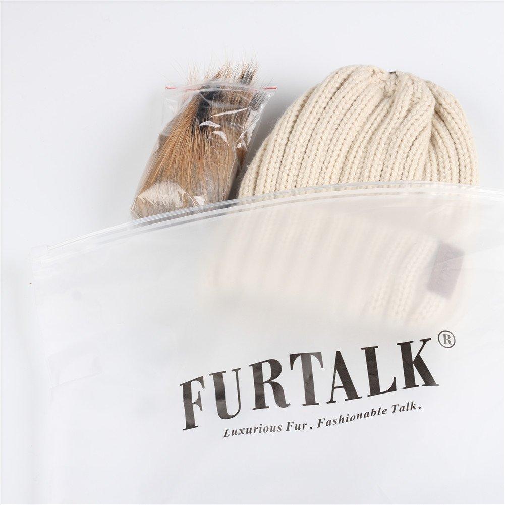 FURTALK Kids Winter Pom Pom Hat - Knitted Beanie Hats for Children Girls Boys Original by FURTALK (Image #2)