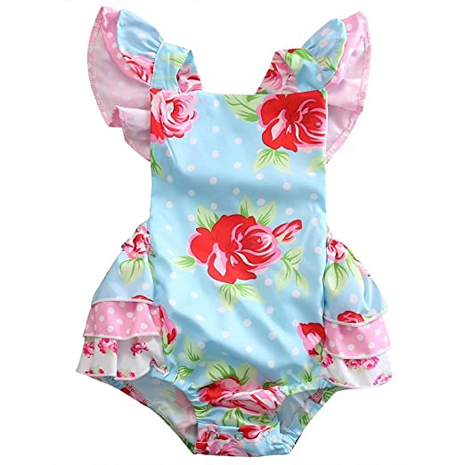 4e1b3f6a129 Image Unavailable. Image not available for. Color  GRNSHTS Baby Girls Flower  ...