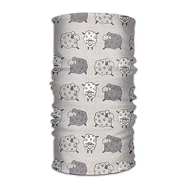 Magic Headwear Elephants Pattern Outdoor Scarf Headbands Bandana Mask Neck Gaiter Head Wrap Mask Sweatband