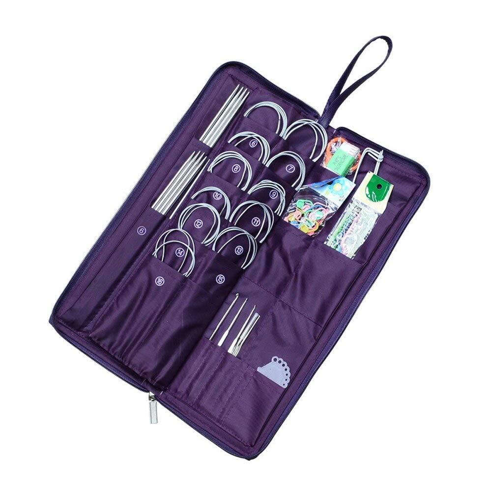 Crochet Hooks - 135 Pcs Convenience Stainless Steel Sewing Kit Home Accessories DIY Needles Repair Portable Durable Pins Crochet Hook Mini