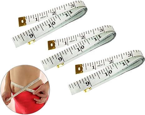 "New Plastic Sewing Tailor Diet Measuring Soft Ruler Tape Measure 60/""//150cm"