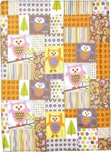 Izzy Hooten Tooten Newton Fleece Nursery Blanket, Girls