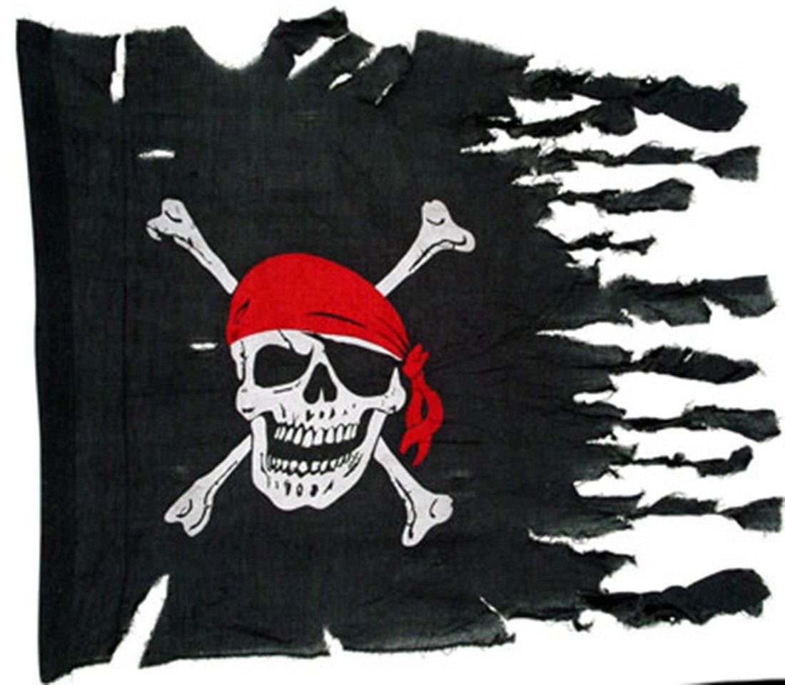 mágica fiesta - Party decoración - Banderas Piratas Calavera ...