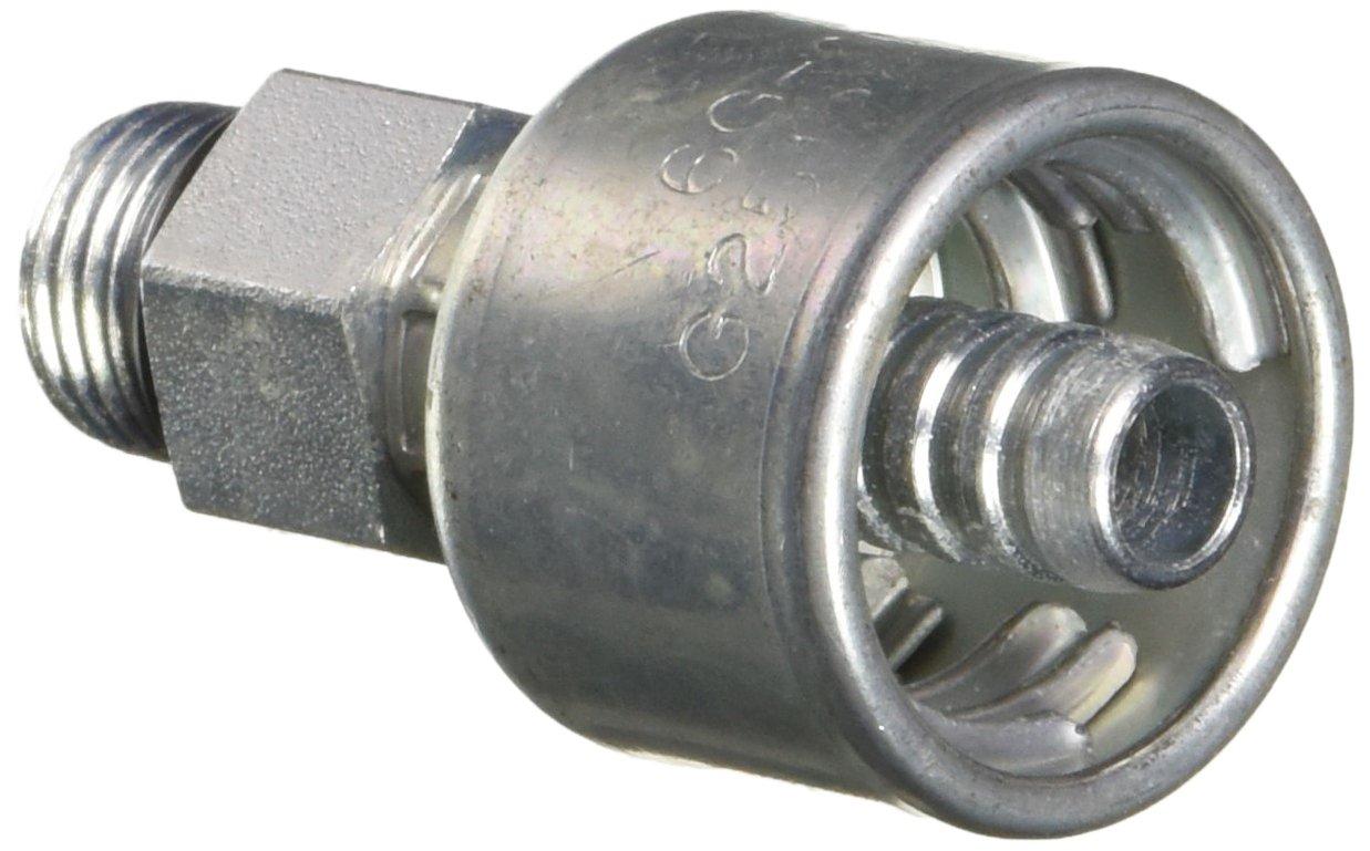 Gates G25120-0606 Male O-Ring Boss (MegaCrimp)
