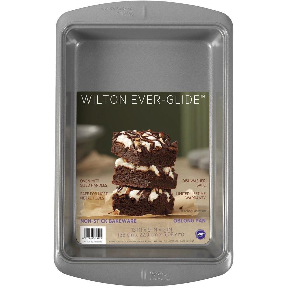 Wilton 2105-7942 Ever-Glide Baking 13 X 9, 9x 13 Oblong Pan