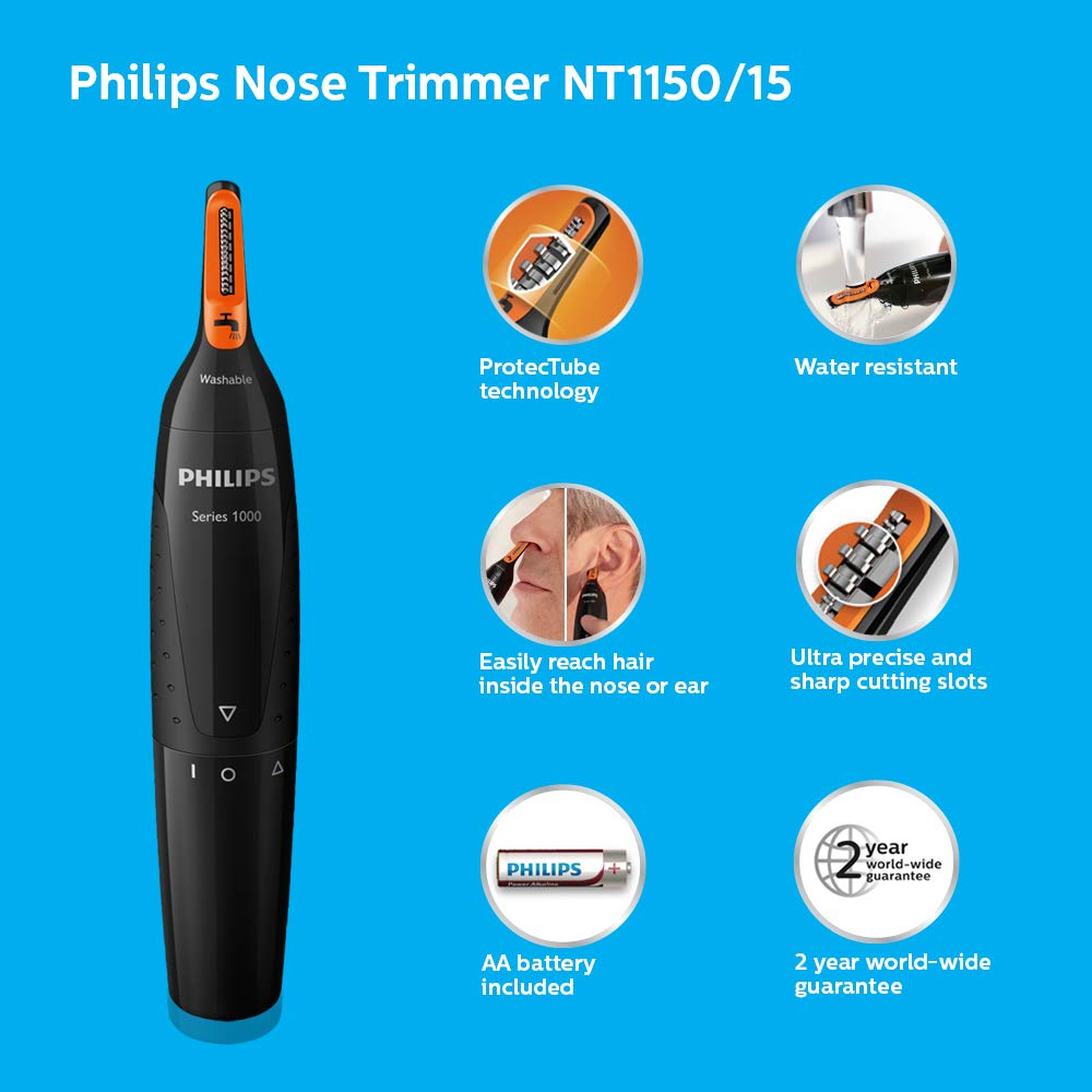 Philips Nt1150 Nose Trimmer Black