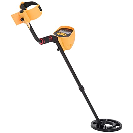 Amazon.com : Outsunny 5 Mode LCD Water Resistant Adjustable Handheld Metal Detector - Yellow/Black : Garden & Outdoor