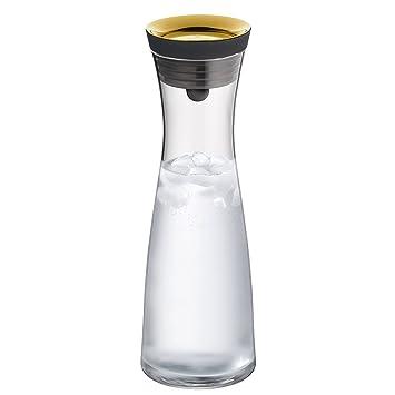 WMF Basic - Botella de agua de cristal, sistema Close Up, Sin accesorios, Dorado, 1,0 litros: Amazon.es: Hogar