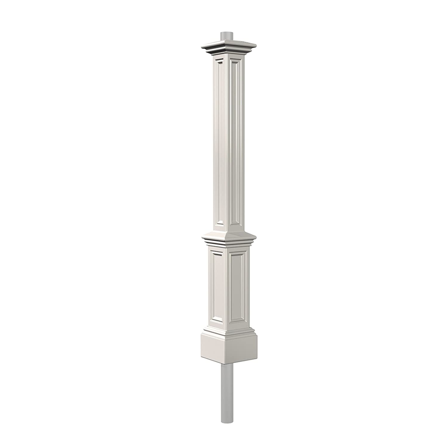 Wood outdoor lamp post - Amazoncom Mayne 5835wh Signature Lamp Post With 89inch