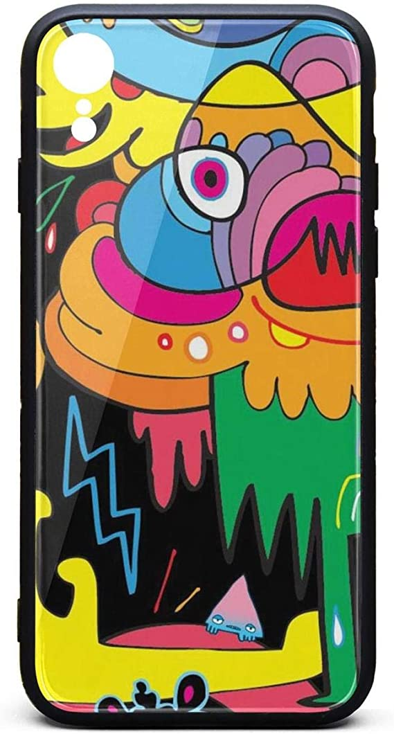 Amazon Com Phone Case For Iphone Xr Fashion Colorful Art Cartoon