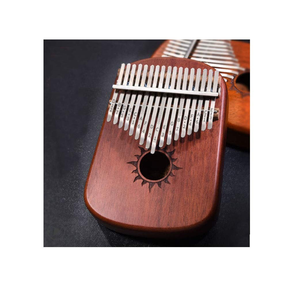 Youshangshipin Kalimba, 17-tone Retro Design Style Thumb Piano, Beginners To Learn To Practice Professional Performance Of The General Style (style 1, Gifts; Piano Bag + Piano Cloth + Tuning Hammer)