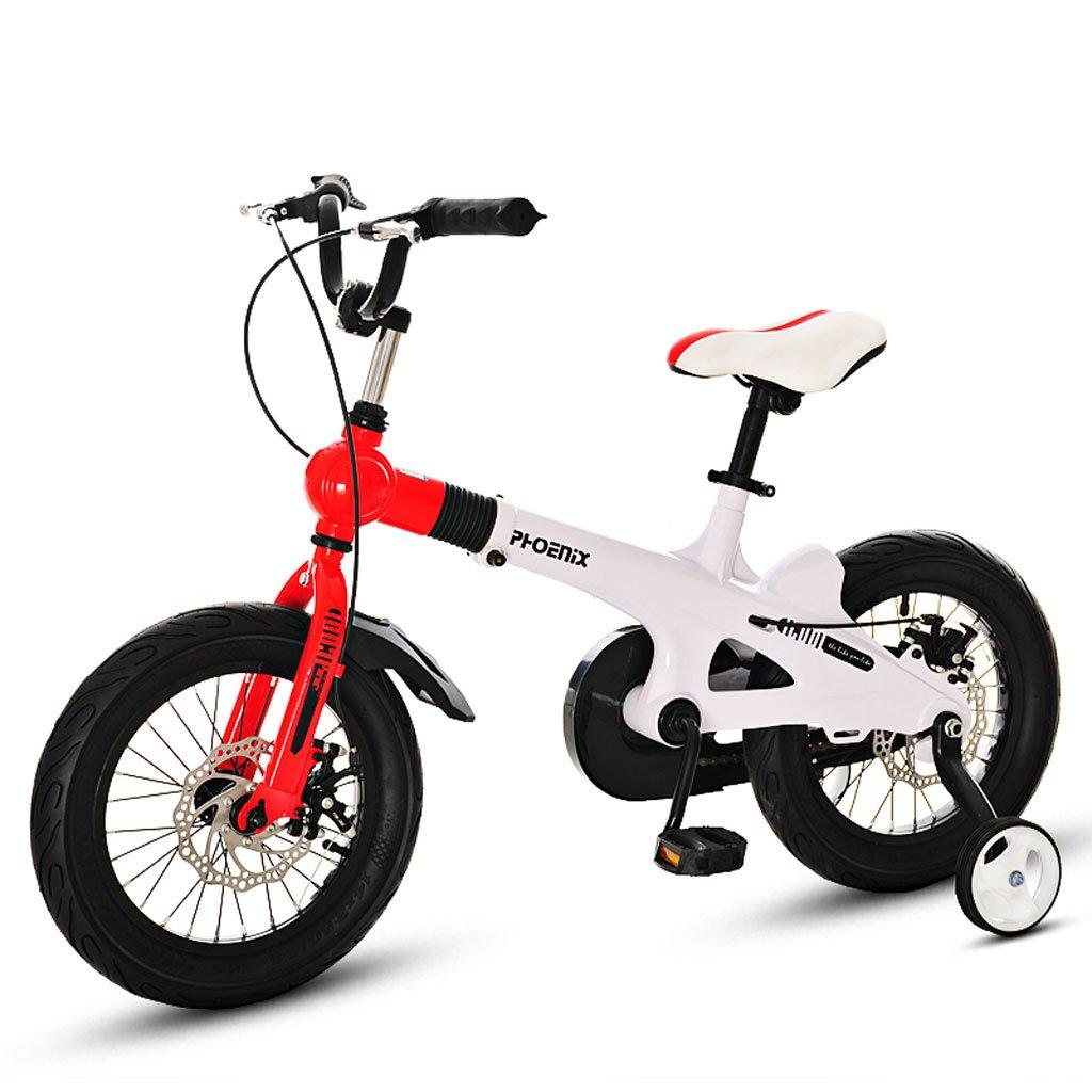 子供用自転車3-7 / 5-11歳の子供用自転車14/16インチのベビーカー ( Size : 16 inch white ) B07DV92TMF