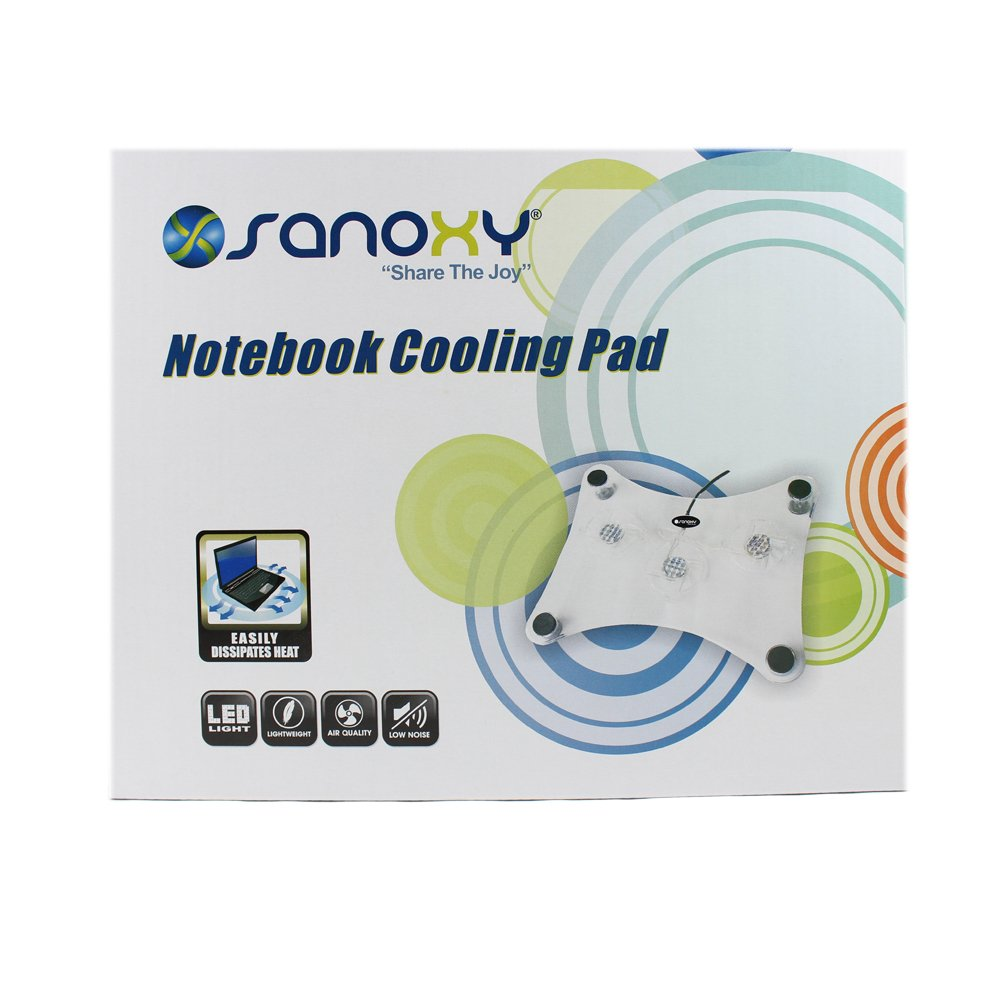 Laptop Notebook Cool Pad w/ 3 Fans by SANOXY (Image #3)