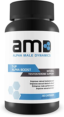 Alpha Male Dynamics Test Booster- Increase Muscle Mass- Maximize Performance 60 Capsules