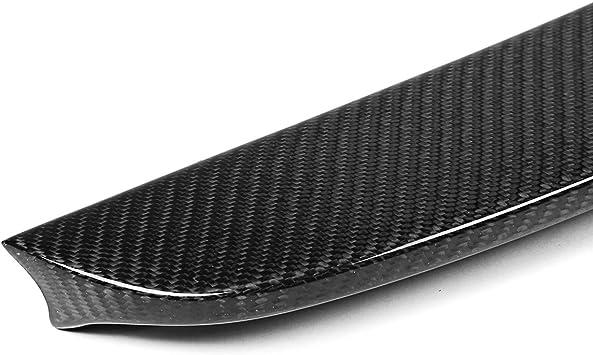 AVANI EXCHANGE ala del aler/ón del Coche del Maletero Trasero Completo de Fibra de Carbono para 14-18 Audi A3 S3 RS3 Sedan V Tipo 4Puerta
