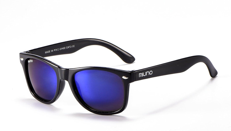 ® Gafas de sol infantiles polarizado dual-polarized Wayfare funda para niños y niñas 6833 plateado Blauverspiegelt: Amazon.es: Ropa y accesorios
