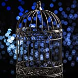 Shindigz Decorative Black Bird Cage Centerpiece For Sale