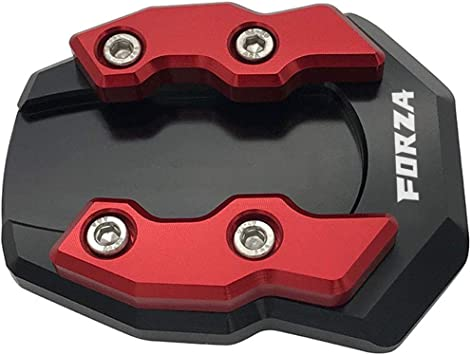 For Honda Forza 300 250 125 Kickstand Side Stand Pad Extension Enlarger Plate