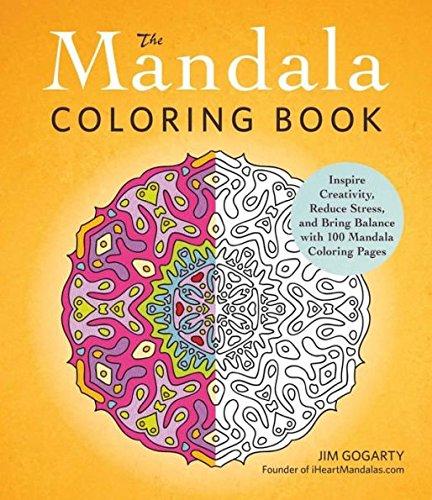 The Mandala Coloring Book by Mana's Life