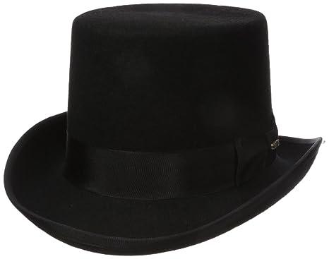 d72e73a1 SCALA Men's Wool Felt Topper Hat at Amazon Men's Clothing store: