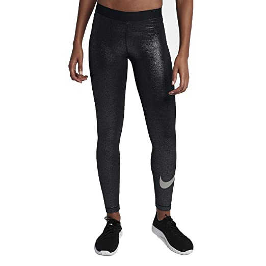 9d7f833a4c431 Amazon.com: NIKE Womens Metallic Dri-Fit Leggings: Clothing