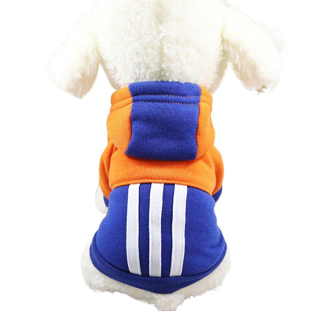 KariNao HundeKleidung Pet Mantel fü r Chihuahua Kleine Hunde warme Jacke Welpen Outfits Katzen Bekleidung