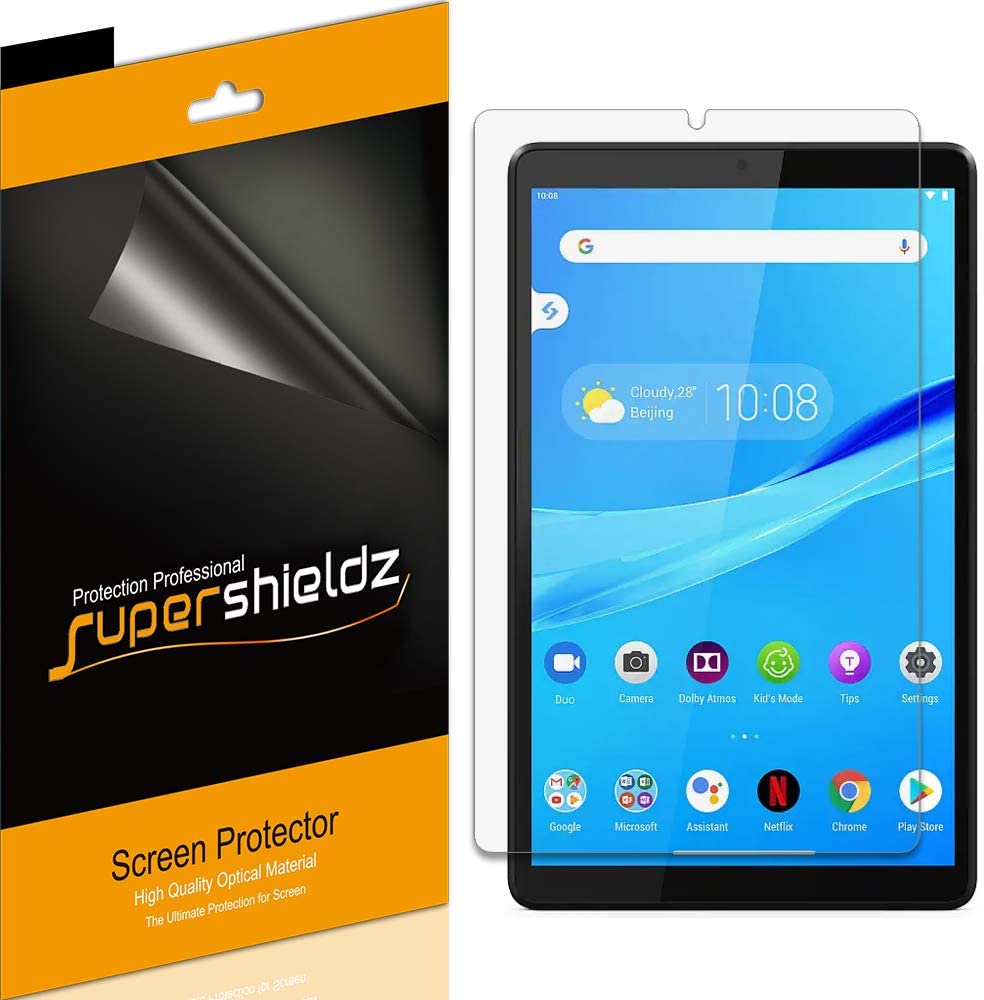 Supershieldz (3 Pack) for Lenovo Smart Tab M8 / Tab M8 HD (8 inch) Screen Protector, Anti Glare and Anti Fingerprint (Matte) Shield