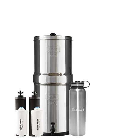 berkey water filter fluoride. Royal Berkey Water Filter System Includes Black Filters And Fluoride (3 Gallon) Bundled