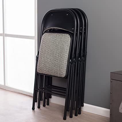 Miraculous Meco Sudden Comfort Padded Folding Chair 4 Pack Pabps2019 Chair Design Images Pabps2019Com