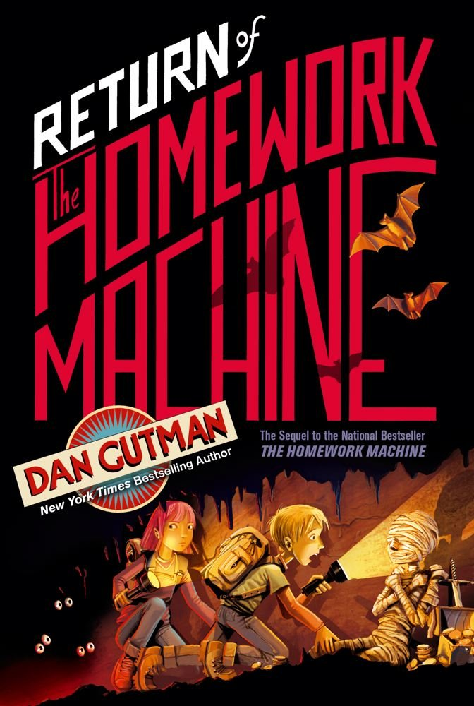 Return Homework Machine Dan Gutman product image