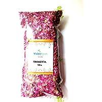 Vision Fresh Organic Dry Pink Rose Petals 100 Gram