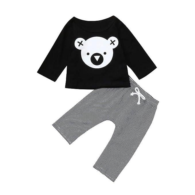 Bodys Bebe,BBestseller Ropa Bebes Top Camiseta Estampada con Estampado de Koalas y Dibujos Animados