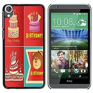 Dragon Case - FOR HTC Desire 820 - never reach them - Caja protectora de pl??stico duro de la cubierta Dise?¡Ào Slim Fit