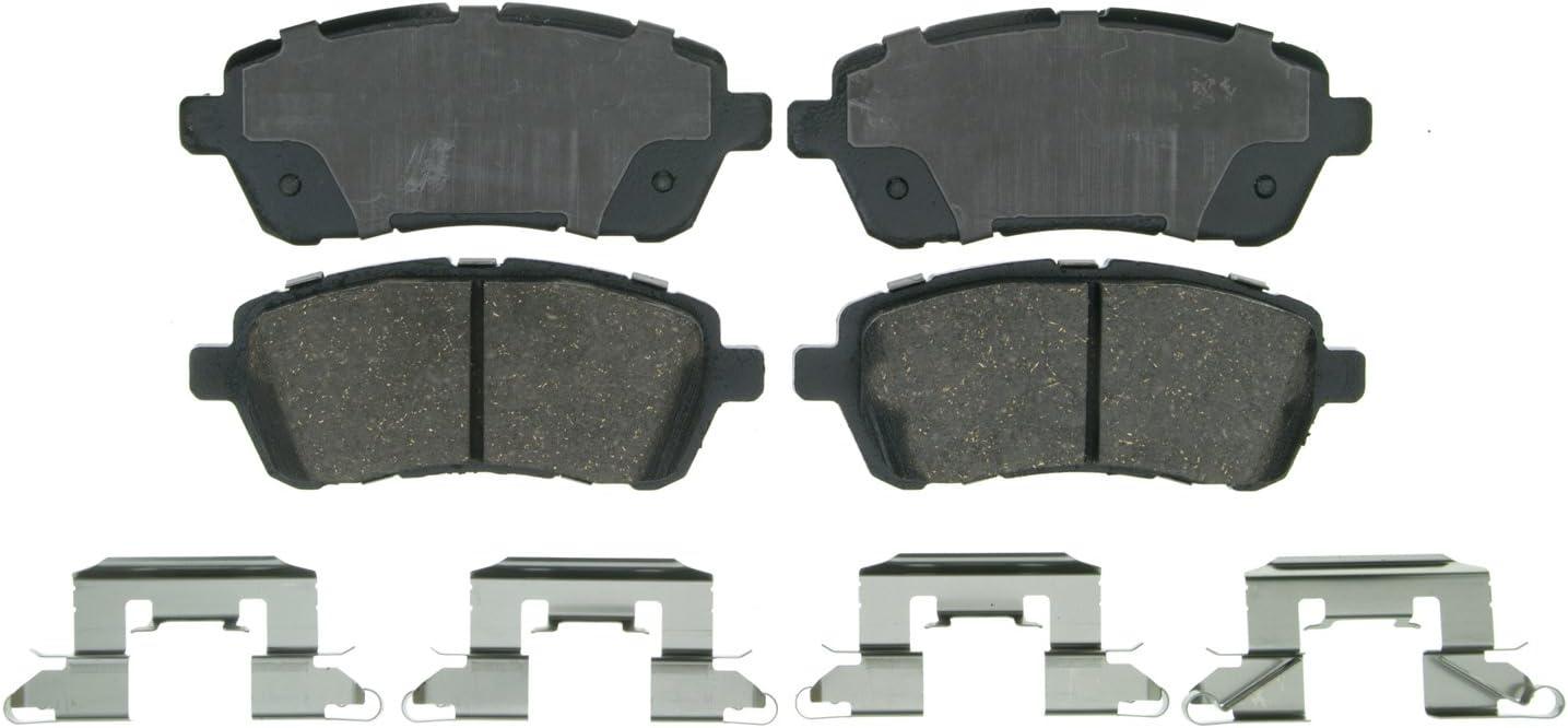 Amazon Com Wagner Quickstop Zd1454 Ceramic Disc Brake Pad Set Automotive