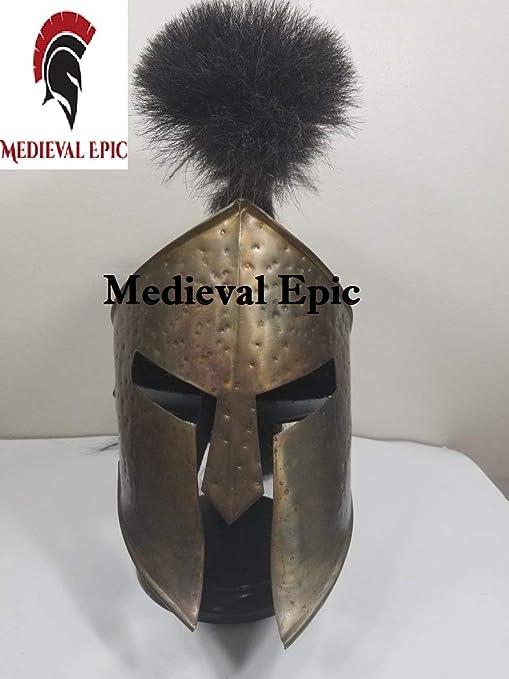 Casco Espartano Hecho a Mano Medieval 300 película Rey Leonidas ...