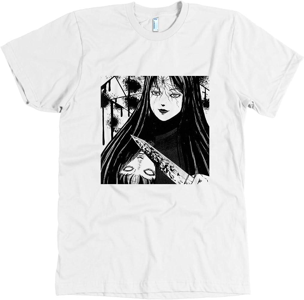 Tomie Scary Anime Unisex T Shirt
