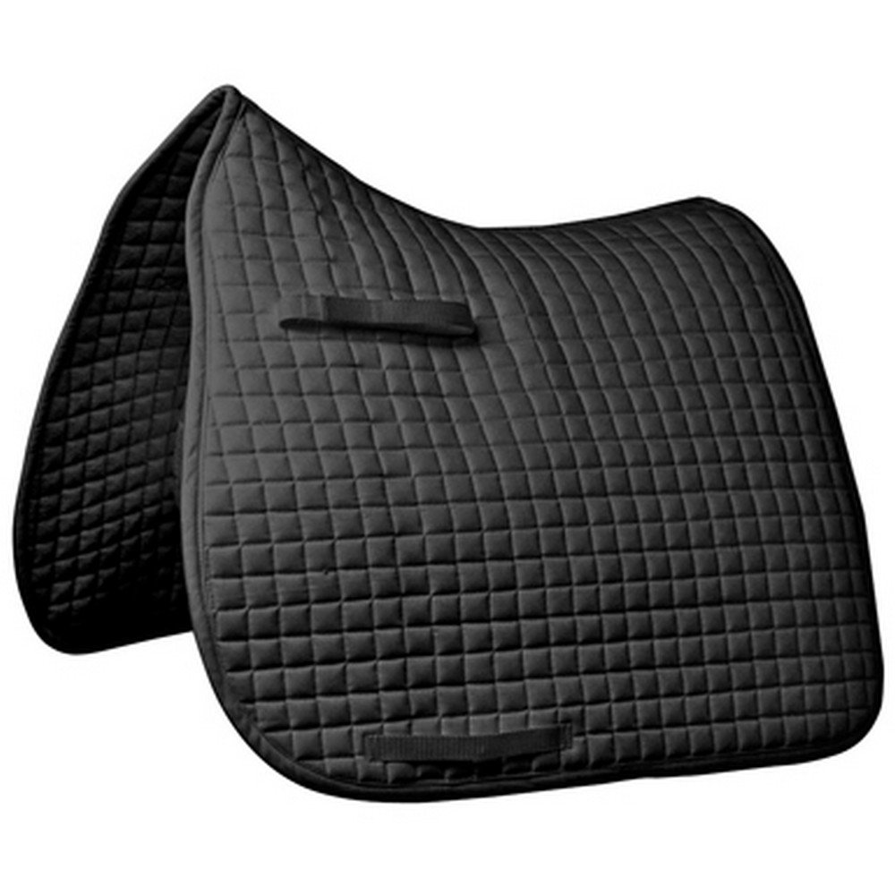 Black UK Size  Full Black UK Size  Full Mark Todd Traditional Dressage Saddlepad (UK Size  Full) (Black)