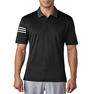 Adidas Climacool 3 Stripes Club Crestable Camiseta Polo de Golf, Hombre