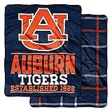 NCAA College Double-Sided (60' x 70') Basketball - Football Stadium Game - Throw Blankets - Choose Team (Auburn Tigers)