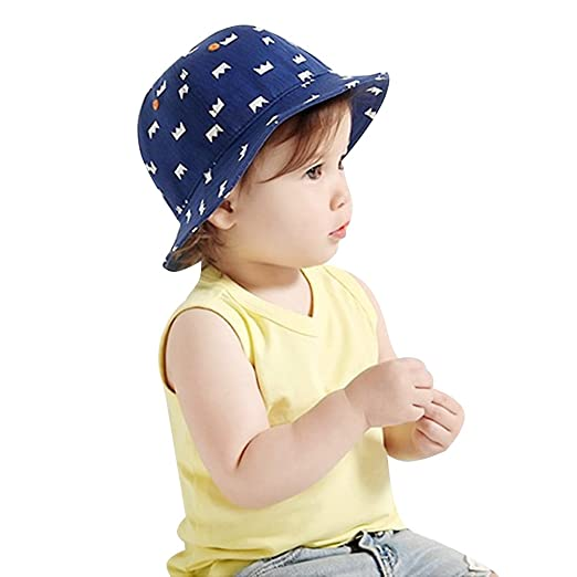 Image Unavailable. Image not available for. Color  IMLECK UPF 50+ UV Ray  Sun Protection Baby Blue Hat with Drawstring 4f6ea1e0efdc