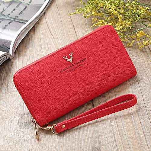 Women's Sharemen Bag Travel Red Evening Evening Clutch Pouch Handbag q6S6vRdrCw