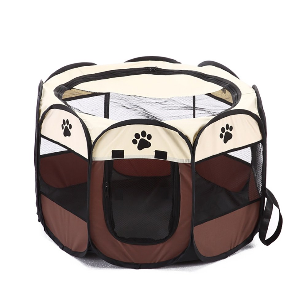 WeiHi Jaula portátil para Mascotas, Perros, Gatos, jaulas de Juego ...