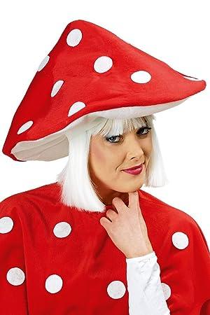 Kostüm Accessoires Hut Fliegenpilz für Kinder Fliegenpilzhut Karneval Fasching