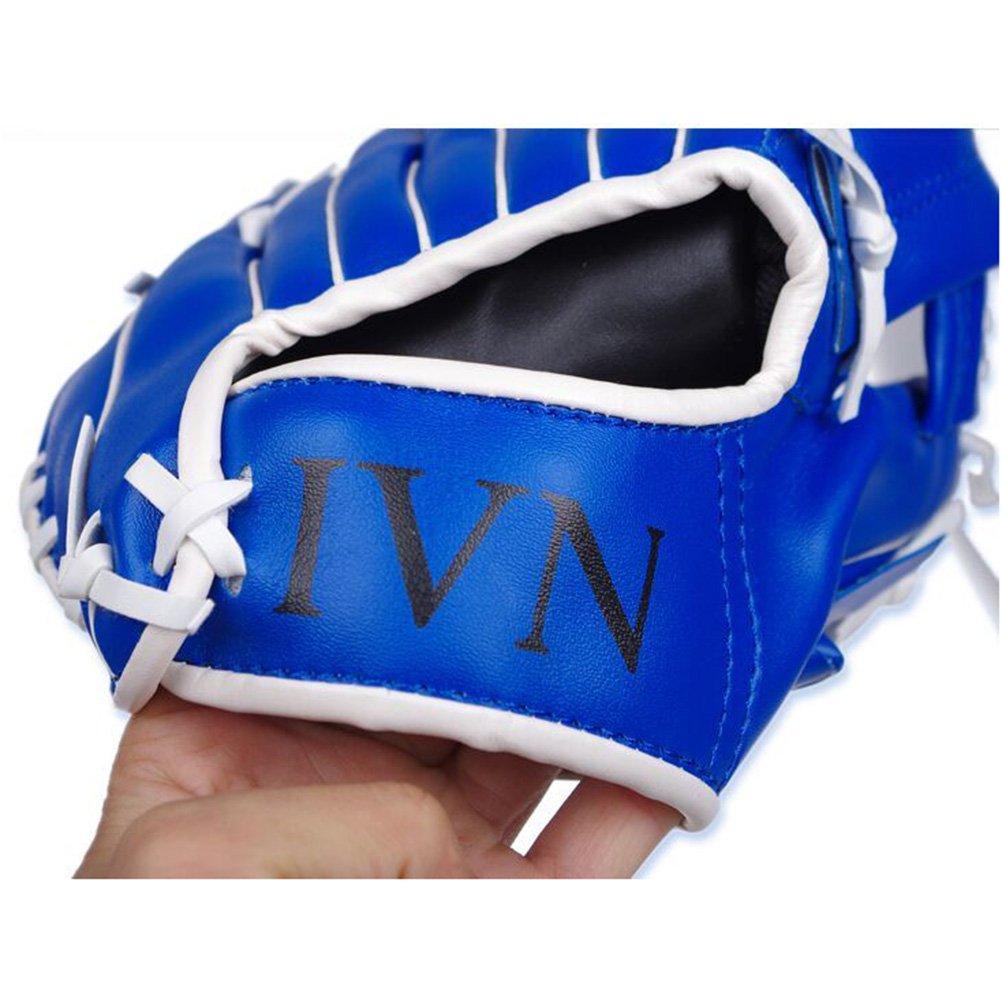 leorx links Hand f/ür Softball Baseball Erwachsene Baseball-Heimspiele Glove/ /26,7/cm blau