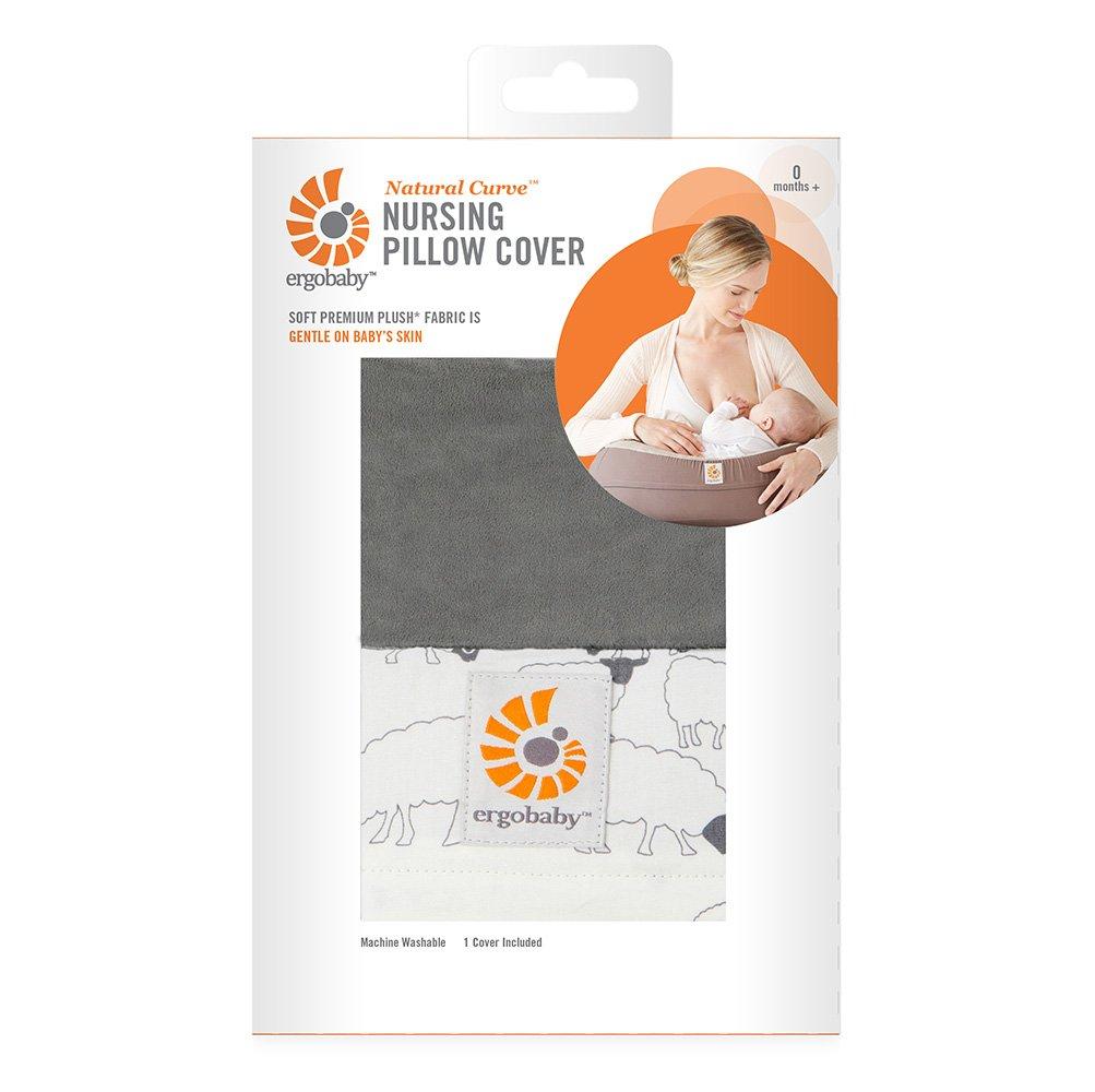Ergobaby Natural Curve Nursing Pillow Cover, Sheep NCASHEEP