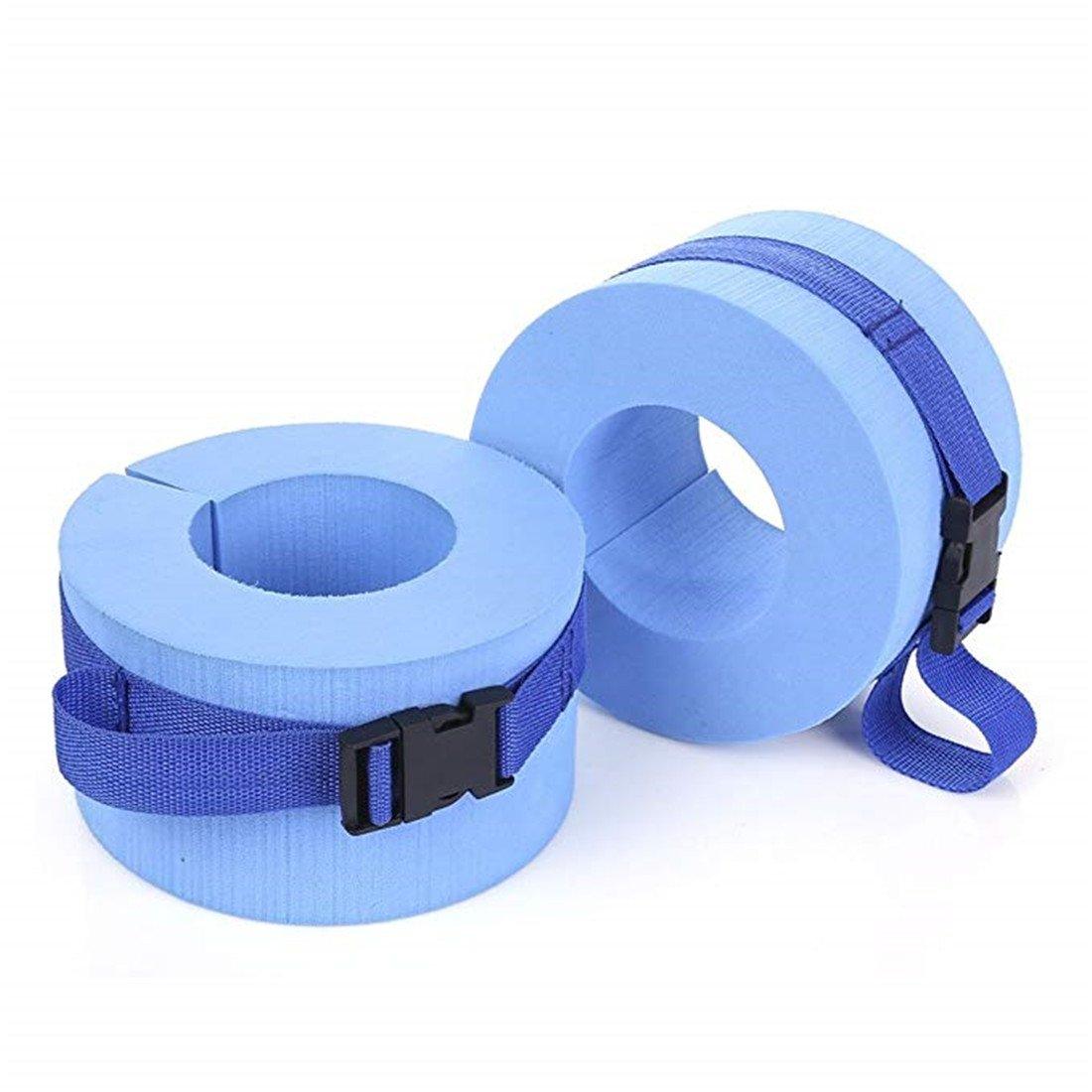 Cinturón de flotación acuática, puños de espuma para natación, puños acuáticos, resistente al agua, aeróbicos, flotador, ejercicio, ejercicio, tobillos, ...